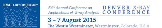 Denver X-ray Conference 2015