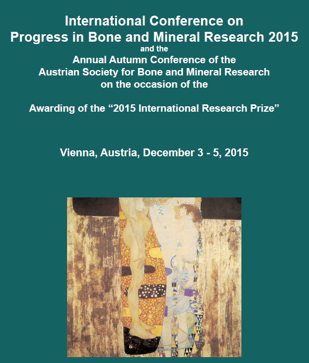 International Conference on Bone and Mineral Research 2015