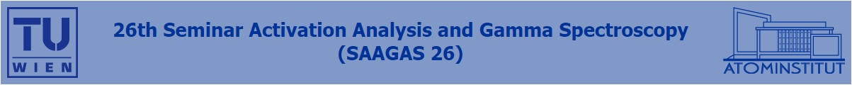 26th Seminar Activation Analysis and Gamma Spectroscopy (SAAGAS 26) and Presentation Award